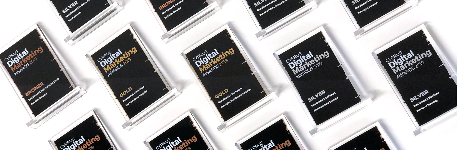 Base Element stands out at the Cyprus Digital Marketing Awards 2019